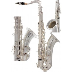 Saksofon tenorowy Bb, B Fis SaxT3100S M-tunes - Srebrny