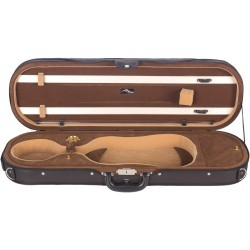 Foam violin case Premium 4/4 Mcase Black - Brown