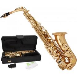 Saksofon altowy Es, Eb Fis MTSA1001G M-tunes - Złoty