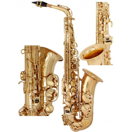Alto Saxophone Es, Eb Fis SaxA1310G M-tunes - Gold