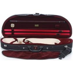 Futerał skrzypcowy skrzypce Classic (pianka) 4/4 M-case Czarno - Bordowy