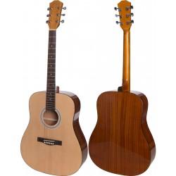 "Guitare acoustique 4/4 41"" M-tunes MTF48"