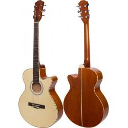 "Guitare acoustique 4/4 40"" M-tunes MTFG10"