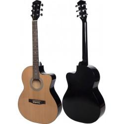 """Guitare acoustique 4/4 39"""" M-tunes MTF27C"""