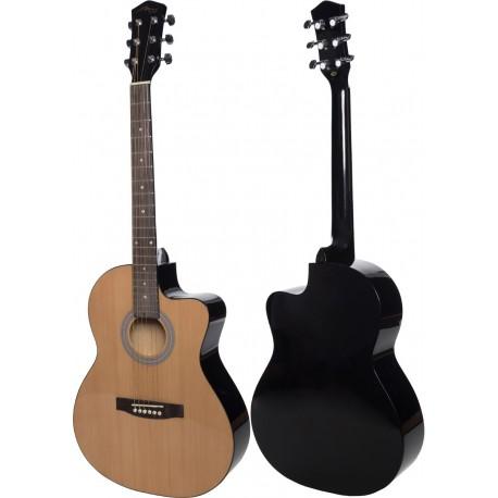 """Acoustic guitar 4/4 39"""" M-tunes MTF27C"""