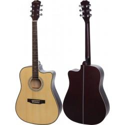 "Guitare acoustique 4/4 41"" M-tunes MTF168CW"