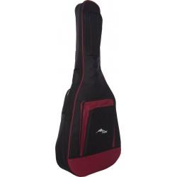 Housse pour guitare acoustique Premium 4/4 M-case Bordeaux