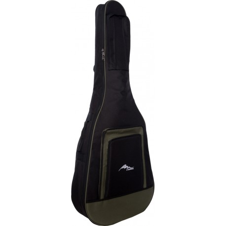 Acoustic guitar cover Premium 4/4 M-case Green