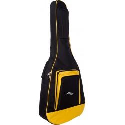 Gitarrentasche für akustische gitarre Tasche Premium 4/4 M-case Gelb