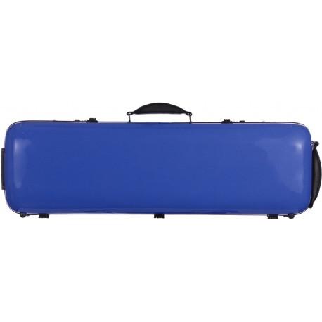 Geigenkoffer Glasfaser Safe Oblong 4/4 M-case Blau