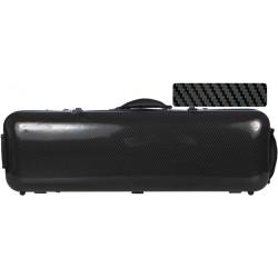 Geigenkoffer Glasfaser Safe Oblong 4/4 M-case Schwarz Special