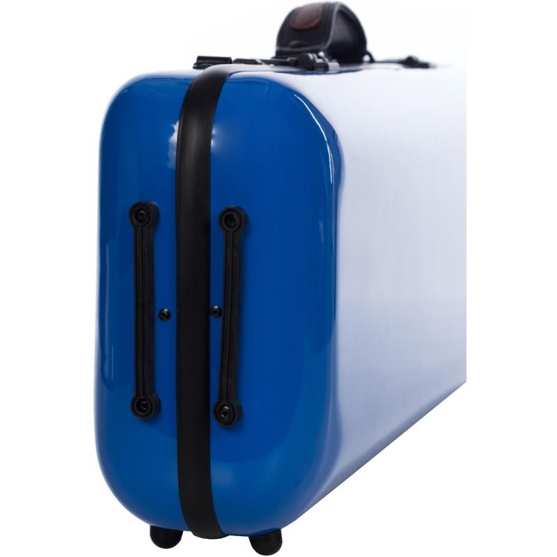 DE Geigenkoffer Glasfaser Safe Oblong 4//4 M-case Königsblau