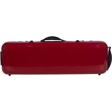 Fiberglass violin case Safe Oblong 4/4 M-case Burgundy