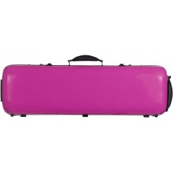 Fiberglass violin case Safe Oblong 4/4 M-case Fuchsia