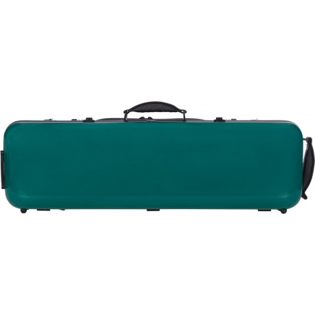 Fiberglass violin case Safe Oblong 4/4 M-case Green Sea
