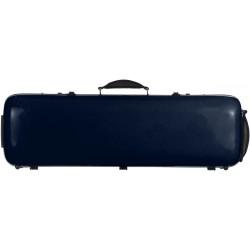 Étui en fibre de verre Fiberglass pour violon Safe Oblong 4/4 M-case Bleu Marine