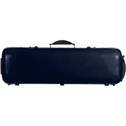 Fiberglass violin case Safe Oblong 4/4 M-case Navy Blue