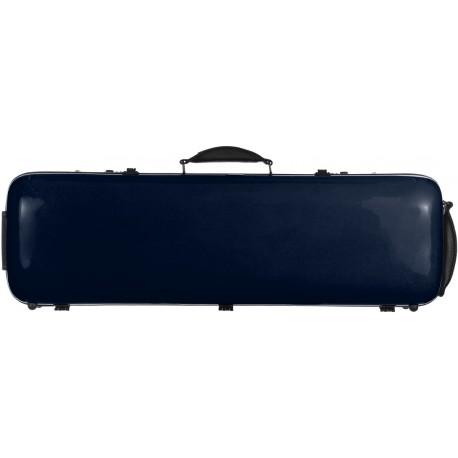 Fiberglass violin case Safe Oblong 4/4 M-case Navy Blue