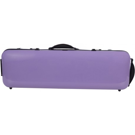 Fiberglass violin case Safe Oblong 4/4 M-case Purple