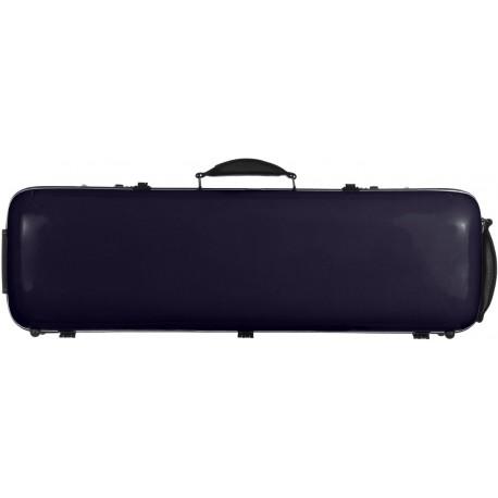Fiberglass violin case Safe Oblong 4/4 M-case Purple Dark