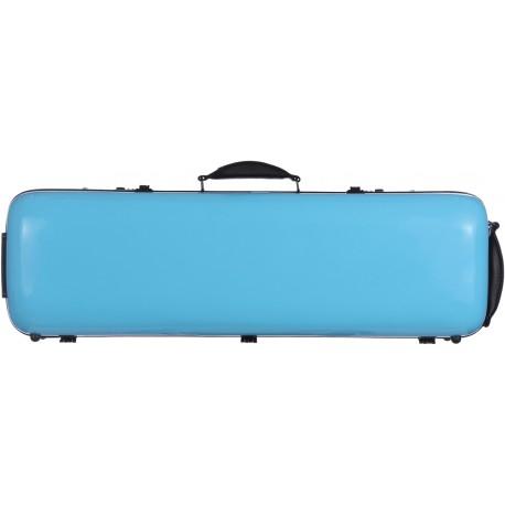 Étui en fibre de verre Fiberglass pour violon Safe Oblong 4/4 M-case Bleu Ciel