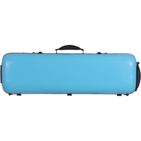 Fiberglass violin case Safe Oblong 4/4 M-case Blue Sky