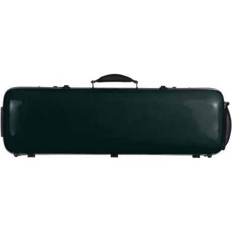 Étui en fibre de verre Fiberglass pour violon Safe Oblong 4/4 M-case Vert