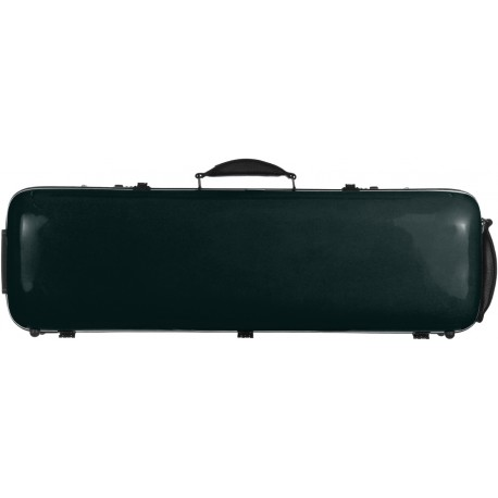 Fiberglass violin case Safe Oblong 4/4 M-case Green