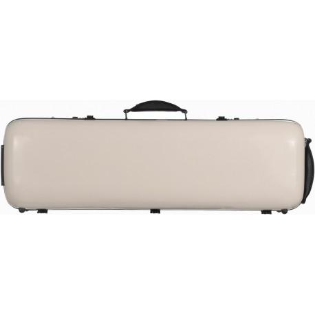 Étui en fibre de verre (Fiberglass) pour violon Safe Oblong 4/4 M-case Pearl