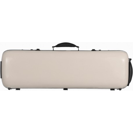 Fiberglass violin case Safe Oblong 4/4 M-case Pearl