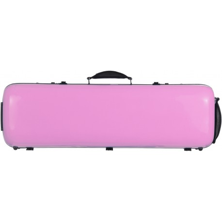 Fiberglass violin case Safe Oblong 4/4 M-case Pink