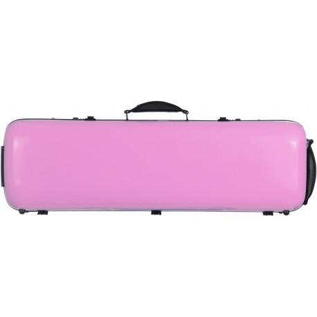 Geigenkoffer Glasfaser Safe Oblong 4/4 M-case Rosa