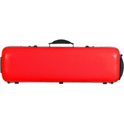 Fiberglass violin case Safe Oblong 4/4 M-case Red