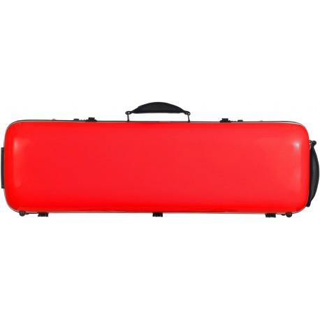 Étui en fibre de verre Fiberglass pour violon Safe Oblong 4/4 M-case Rouge