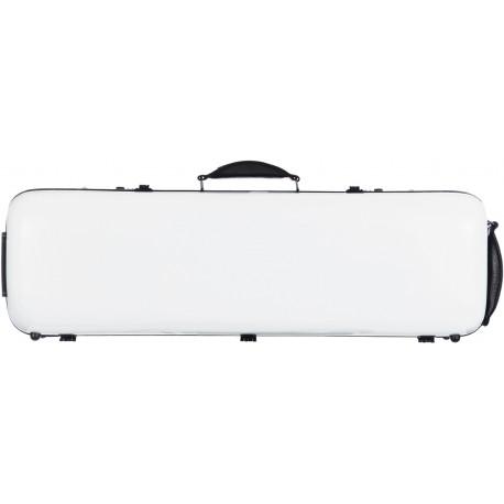 Étui en fibre de verre Fiberglass pour violon Safe Oblong 4/4 M-case Blanc