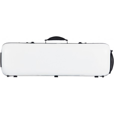 Fiberglass violin case Safe Oblong 4/4 M-case White