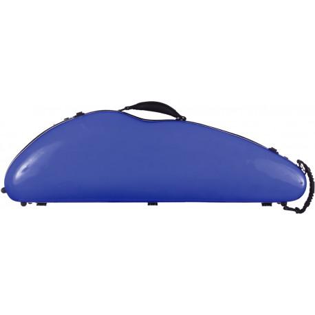 Fiberglass violin case SafeFlight 4/4 M-case Blue