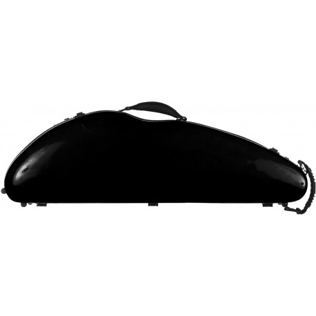Fiberglass violin case SafeFlight 4/4 M-case Black