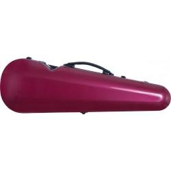 Fiberglass futerał skrzypcowy skrzypce Vision 4/4 M-case Bordowy Lśniący