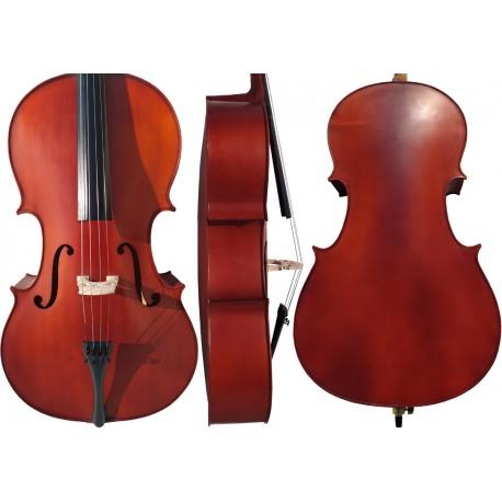 Cello 4/4 M-tunes No.140 hölzern - spielbereit