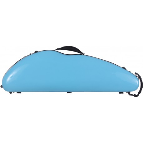 Étui en fibre de verre Fiberglass pour violon SafeFlight 4/4 M-case Bleu Ciel