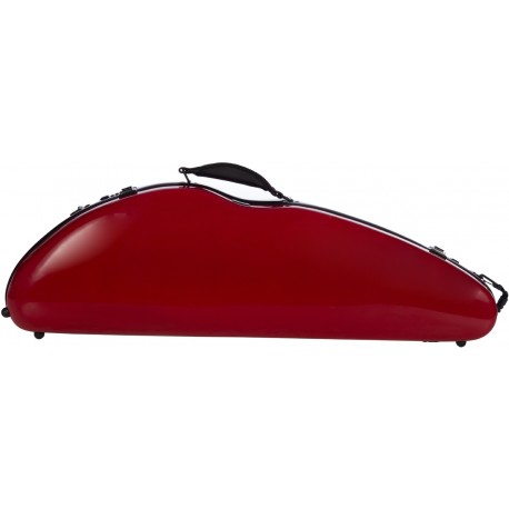 Fiberglass violin case Safe Flight 4/4 M-case Burgundy