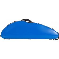 Étui en fibre de verre Fiberglass pour violon Safe Flight 4/4 M-case Bleu Royal