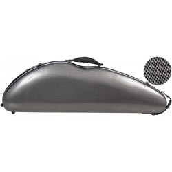 Fiberglass violin case Safe Flight 4/4 M-case Carbon Looking
