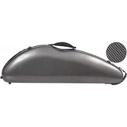 Fiberglass violin case Safe Flight 4/4 M-case Carbon Looking