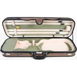 Futerał skrzypcowy skrzypce Premium 4/4 M-case Beżowo - Oliwkowy