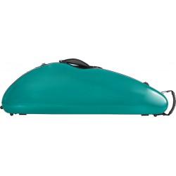Fiberglass violin case Safe Flight 4/4 M-case Green Sea