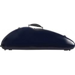 Étui en fibre de verre Fiberglass pour violon Safe Flight 4/4 M-case Bleu Marine