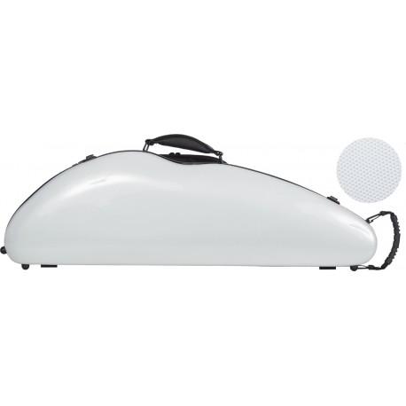 Fiberglass violin case Safe Flight 4/4 M-case Silver Point