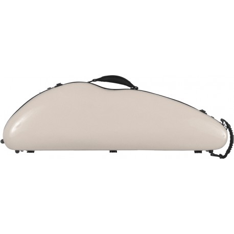 Fiberglass violin case SafeFlight 4/4 M-case Pearl